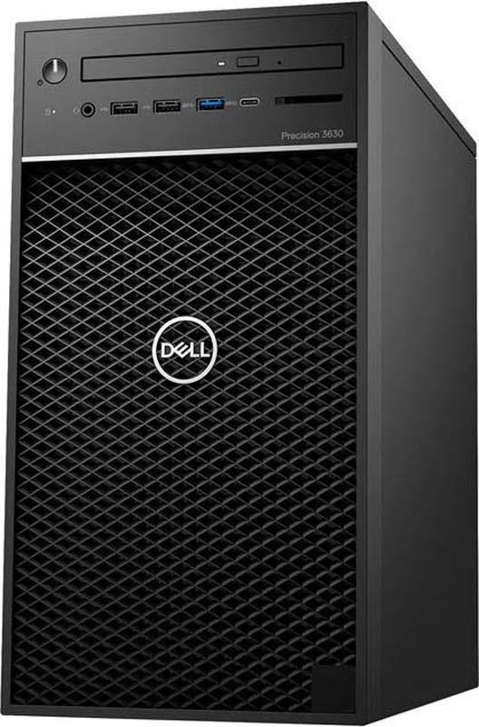 Системный блок Dell Precision 3630 MT, 3630-5550, черный aigo r6635 черный 8gb дефолт