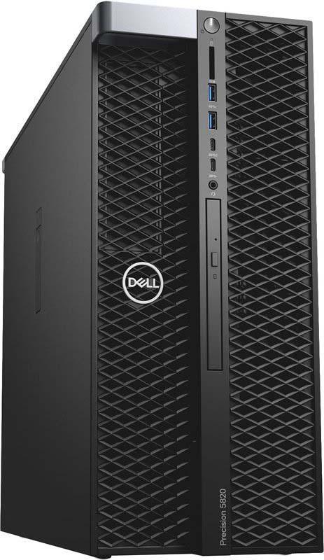 Системный блок Dell Precision T5820 MT, 5820-5710, черный цена