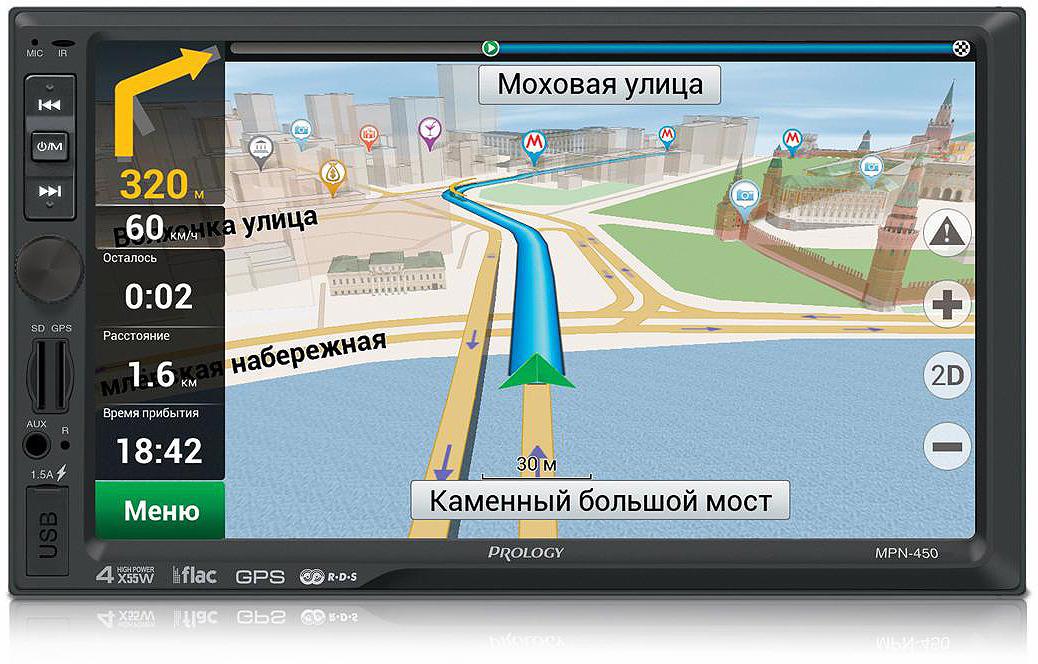 купить Автомагнитола Prology MPN-450, черный по цене 9790 рублей