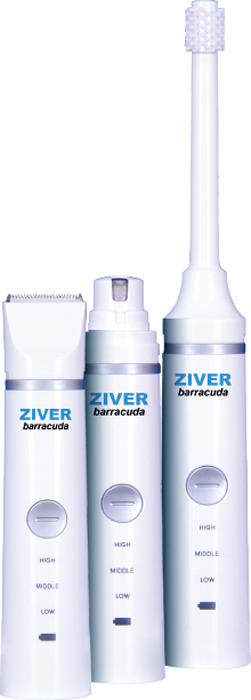 Триммер для животных Ziver ZIVER-214 Barracuda, 20.ZV.080 сменный нож для ziver 206 керамический 45 мм