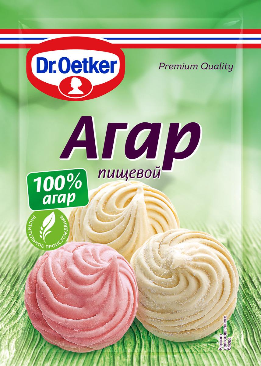 Агар пищевой Dr.Oetker, 7 г цена