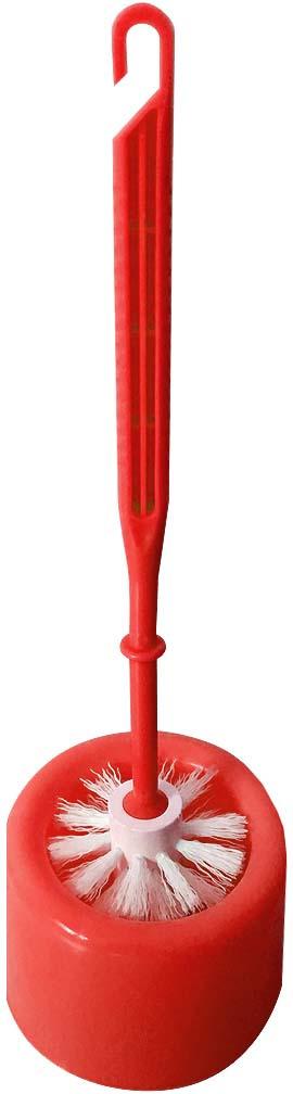 Ершик для унитаза Fresh Code, на подставке, 71173, красный щетка для туалета