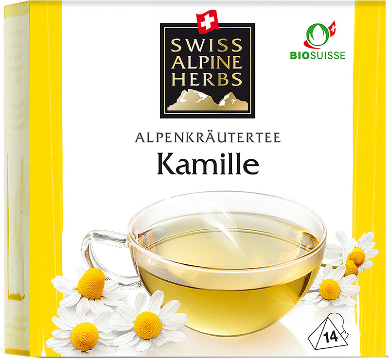 Чай в пирамидках Swiss Alpine Herbs Ромашка, 14 г swiss alpine herbs смесь специй для барбекю 48 г