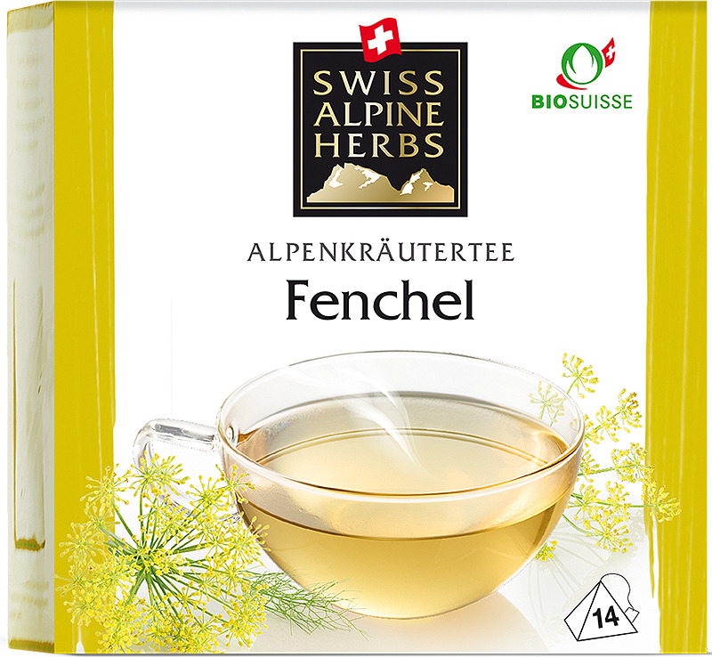 Чай в пирамидках Swiss Alpine Herbs Фенхель, 14 г swiss alpine herbs смесь специй для барбекю 48 г