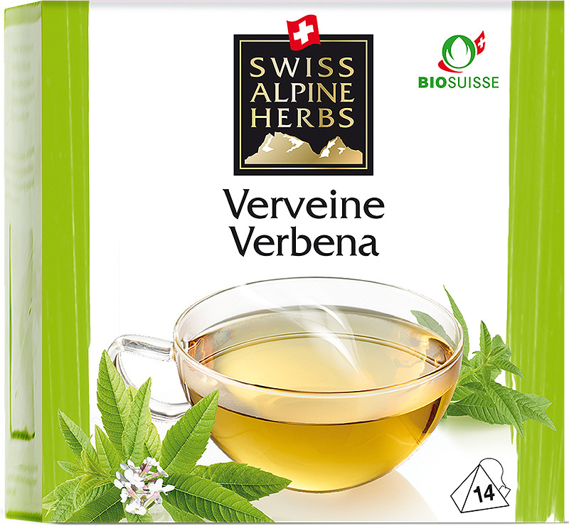 Чай в пирамидках Swiss Alpine Herbs Вербена, 14 г swiss alpine herbs смесь специй для барбекю 48 г