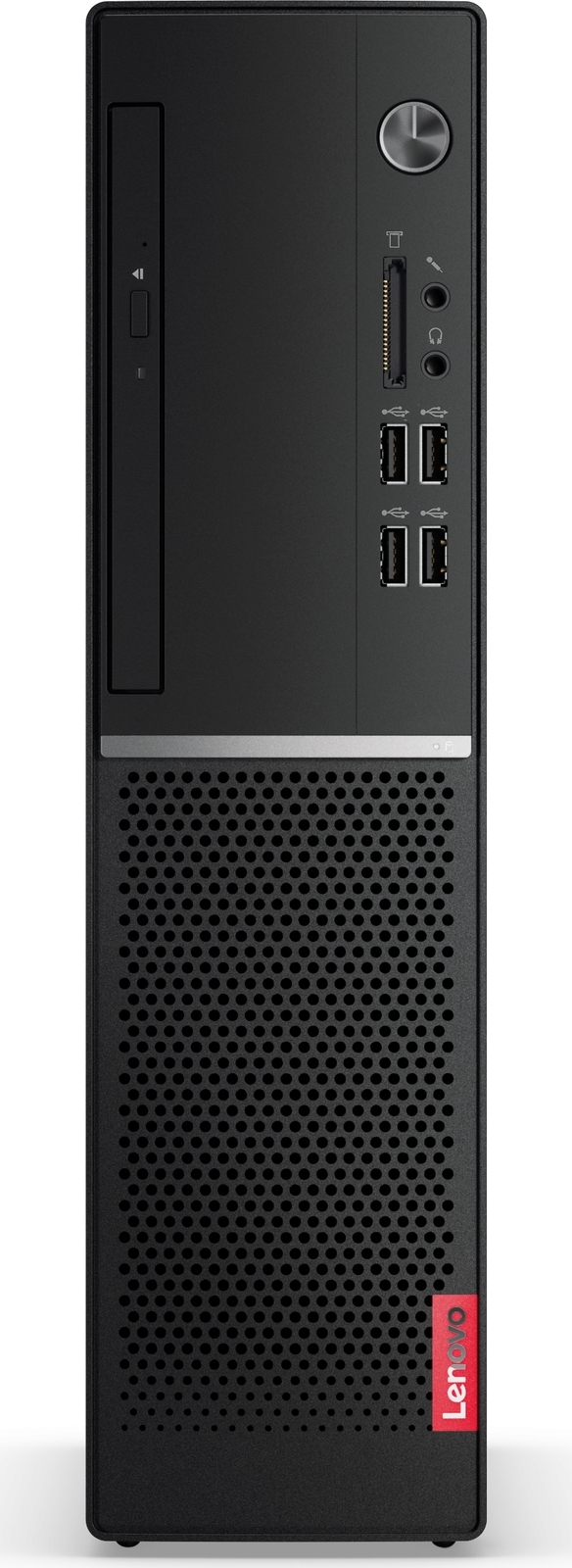 Системный блок Lenovo V520s-08IKL SFF, 10NNS14W00, черный пк lenovo thinkcentre m710q tiny slim i3 7100t 4gb 500gb 7 2k hdg630 w10pro64 kb m черный