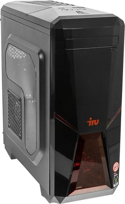 Системный блок iRU Premium 515 TWR, 1090309, черный iru nuc 311 393669