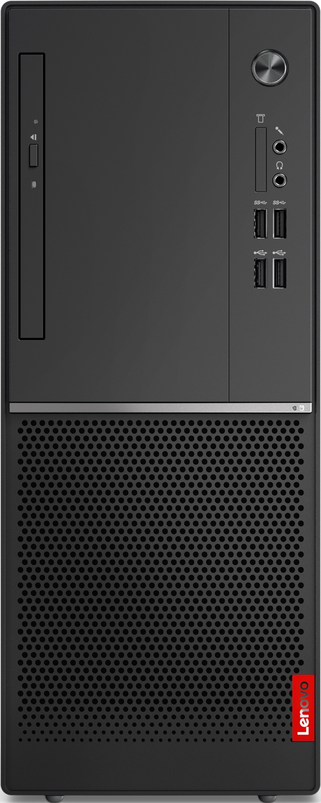 Системный блок Lenovo V330-15IGM MT, 10TS0008RU, черный системный блок dell optiplex 3050 sff i3 6100 3 7ghz 4gb 500gb hd620 dvd rw linux клавиатура мышь черный 3050 0405
