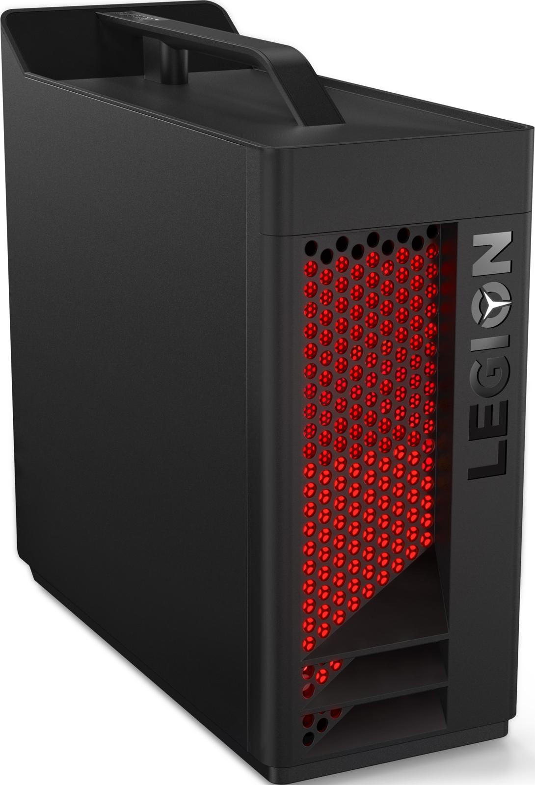 Системный блок Lenovo Legion T530-28ICB MT, 90JL007DRS, черный цена и фото