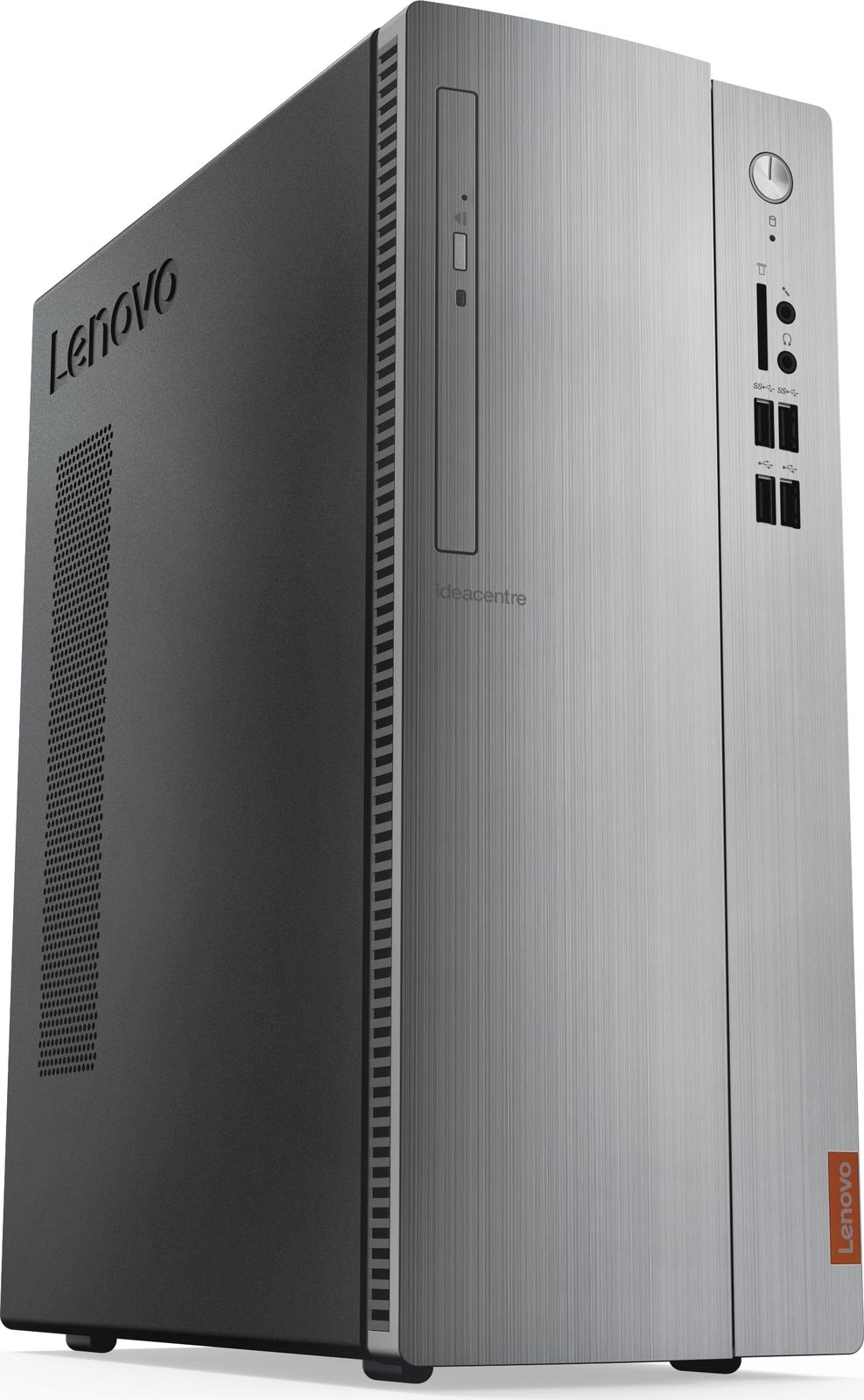 Системный блок Lenovo IdeaCentre 310S-08IGM SFF, 90HX001URS, серебристый