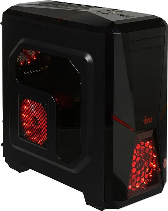 Системный блок iRU Premium 517 TWR, 1091098, черный пк iru corp 310 twr p g4400 4gb ssd120gb hdg510 w10hsl64 черный