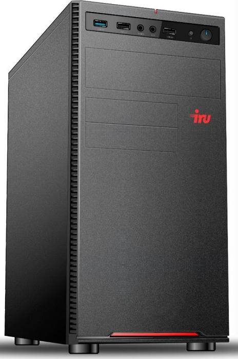 Системный блок iRU Home 225 MT, 1045231, черный системный блок iru home 313 mt 1063317 черный