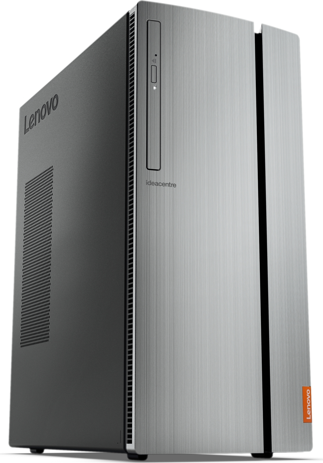 Системный блок Lenovo IdeaCentre 720-18ASU MT, 90H1004PRS, черный, серебристый системный блок lenovo legion t530 28icb 90jl007jrs черный