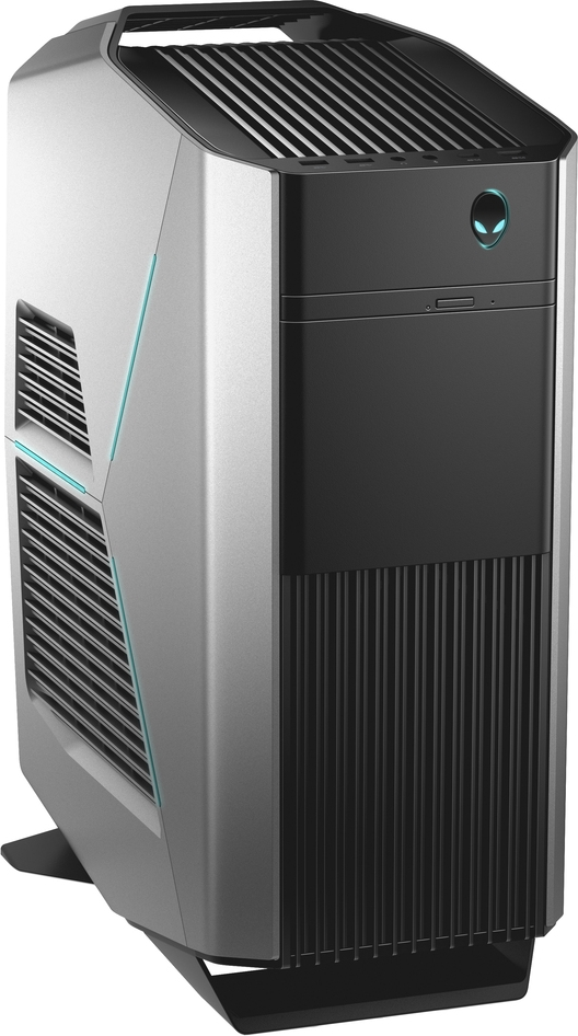 Системный блок Dell Alienware Aurora R7, R7-9942, серебристый системный блок dell alienware aurora r7 9935 mt серебристый
