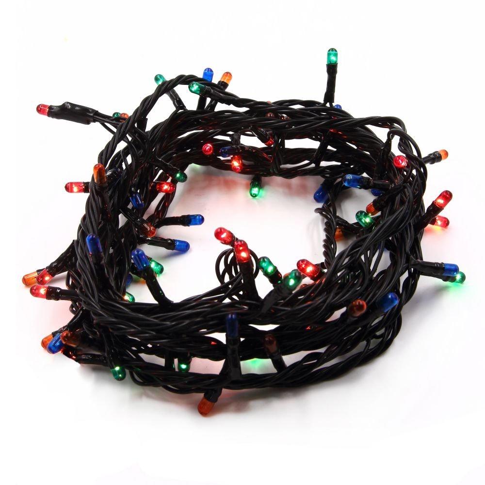Новогодняя гирлянда цветная 140ламп, 4канала новогодняя гирлянда из шишек due esse christmas новогодняя гирлянда из шишек