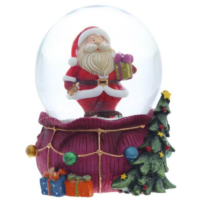 """Фигурка Triumph Xmas в стеклянном шаре """"Санта"""", TXRK-238659, 12 см"""