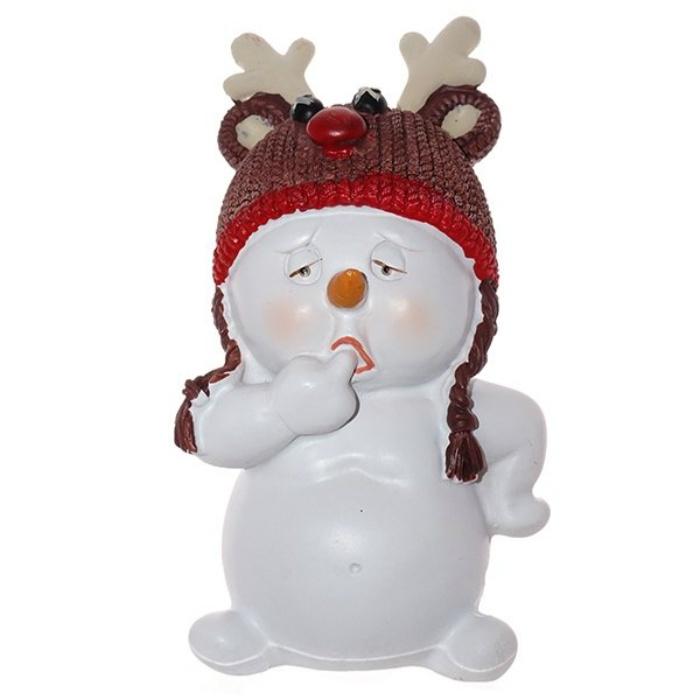 Фигурка Triumph Xmas Снеговик-олень. Новогодний маскарад, TXRK-238650/олень фигурка triumph xmas новогодний экспресс