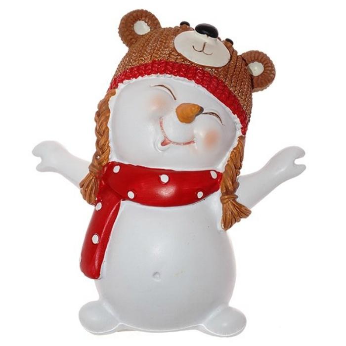 Фигурка Triumph Xmas Снеговик-медведь. Новогодний маскарад, TXRK-238650/медведь, высота 12 см фигурка triumph xmas новогодний экспресс