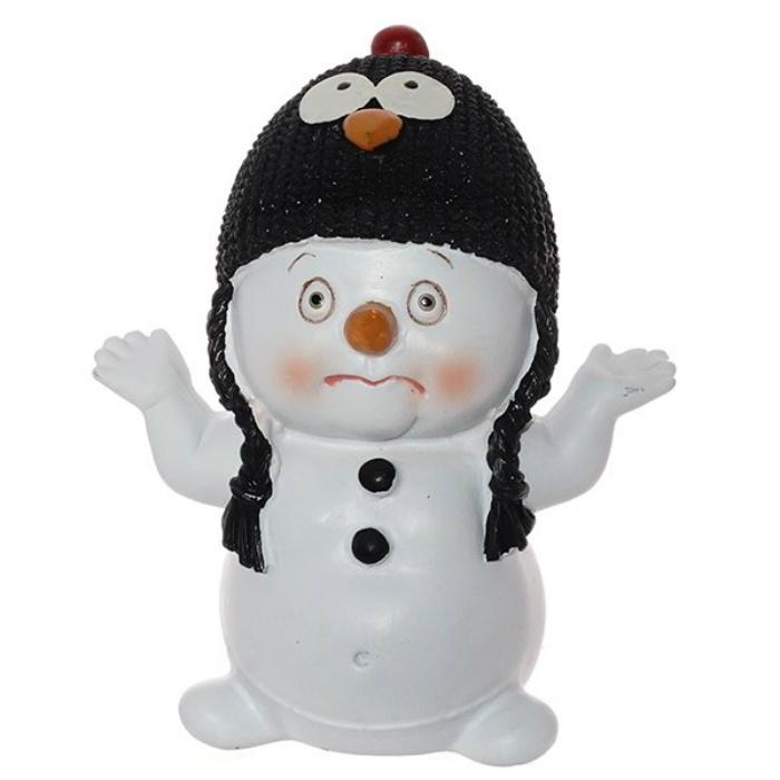 """Фигурка Triumph Xmas Снеговик-пингвин. Новогодний маскарад, TXRK-238650/пингвин, высота 12 смTXRK-238650/пингвинФигурка снеговик """"Новогодний маскарад"""""""