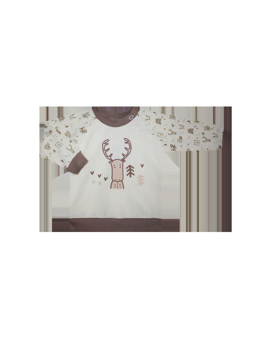 Джемпер КотМарКот джемпер детский котмаркот черепашки цвет светло бежевый 7931 размер 68