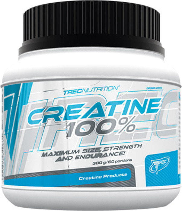 Креатин моногидрат Trec Nutrition Creatine 100%, 300 г dymatize nutrition моногидрат креатина dymatize creatine micronized 500гр
