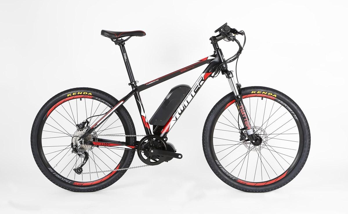 все цены на Электровелосипед Twitter VS7.0-ER-17, TW-VS7.0-ER-17-WHITE-RED, белый, красный онлайн