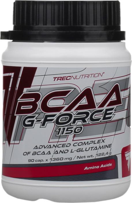 Аминокислоты BCAA Trec Nutrition G-force, 90 капсул collagen renover trec nutrition