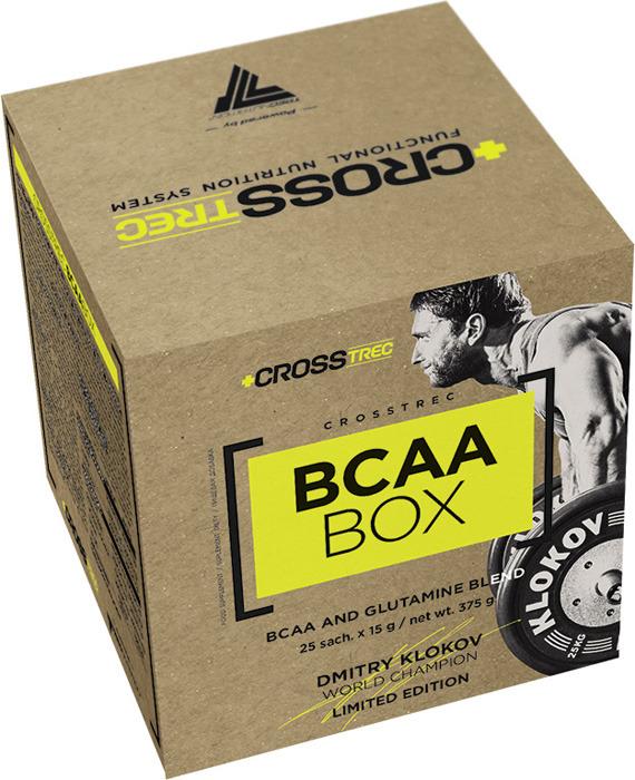 Аминокислотный комплекс Trec Nutrition Crosstrec BCAA Box, лимон-грейпфрут, 25 шт по 15 г collagen renover trec nutrition