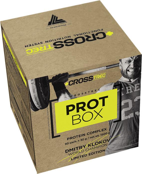 Протеин Trec Nutrition Crosstrec Prot Box, шоколад, 50 шт по 30 г collagen renover trec nutrition