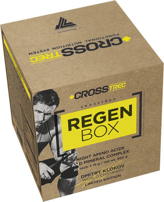 Аминокислотный комплекс Trec Nutrition Crosstrec Regen Box, тропический апельсин, 20 шт по 15 г цены