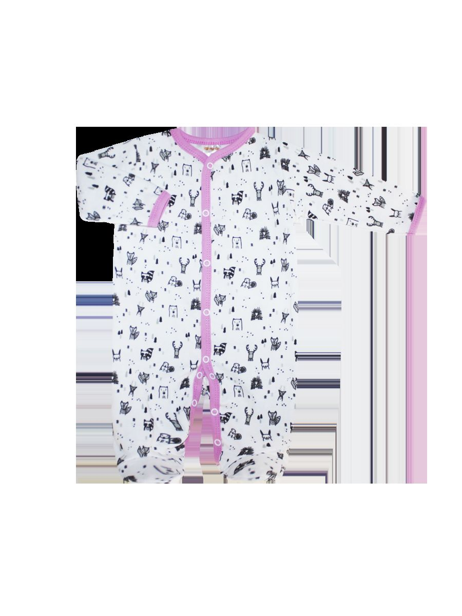 Комбинезон домашний КотМарКот комбинезон домашний для девочки котмаркот цвет мятный черный белый 6414 размер 56
