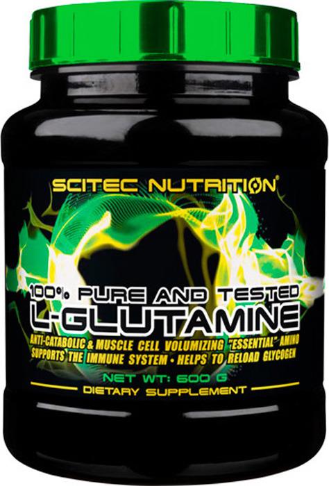 Глютамин Scitec Nutrition L-Glutamin, 600 г728633102860L-Glutamine Scitec Nutrition - спортивная добавка содержащая глютамин, одну из важнейших аминокислот. L-Glutamine обеспечит Вас достаточным запасом глюкогена для поддержания иммунитета, и здоровья. Глютамин при достаточных количествах в организме блокирует выработку кортизона, чем сохраняет наращенную мышечную массу и благотворно влияет на ее дальнейший рост. L-Glutamine защищает печень от токсических веществ, способствует выведению шлаков из организма, участвует в выработке гормона роста.Состав: L-Глютамин.