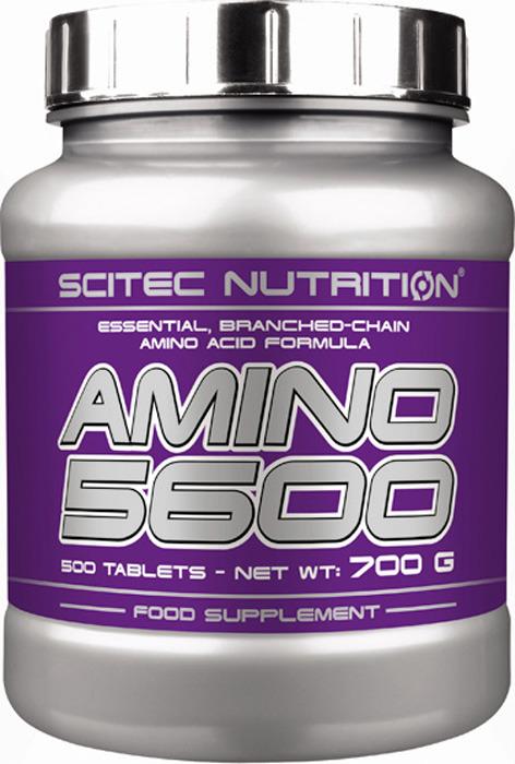 Аминокислотный комплекс Scitec Nutrition Amino 5600, 500 таблеток amino liquid 11500 mg