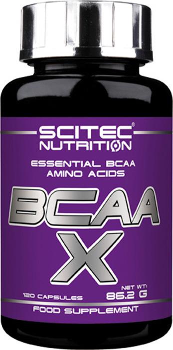 Аминокислоты BCAA Scitec Nutrition BCAA-X, 120 капсул кружка printio optimum nutrition bcaa