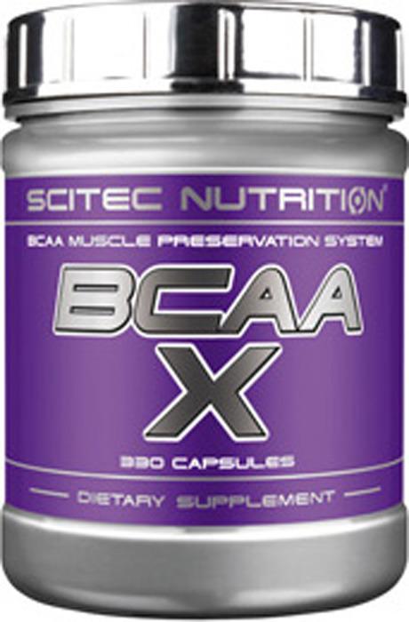 Аминокислоты BCAA Scitec Nutrition BCAA-X, 330 капсул кружка printio optimum nutrition bcaa