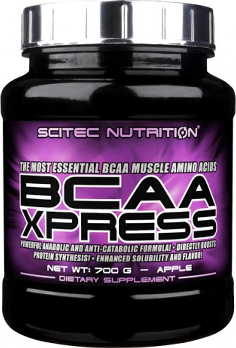 Аминокислоты BCAA Scitec Nutrition Xpress, яблоко, 700 г