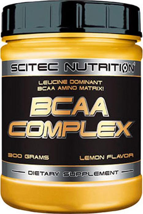 Аминокислоты BCAA Scitec Nutrition Complex, лимон, 300 г athletic nutrition bcaa 300 г