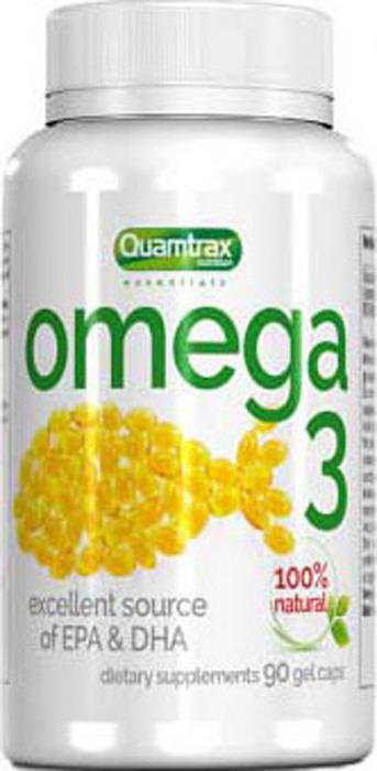 Добавка Quamtrax Omega 3, 90 капсул цена