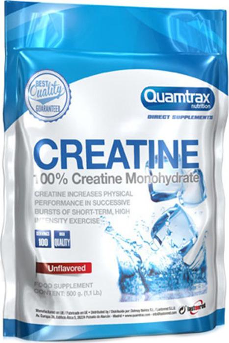 Креатин моногидрат Quamtrax Creatine, 500 г dymatize nutrition моногидрат креатина dymatize creatine micronized 500гр