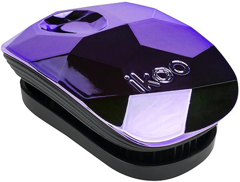 Расческа массажная Ikoo Glamour Pocket, фиолетовый
