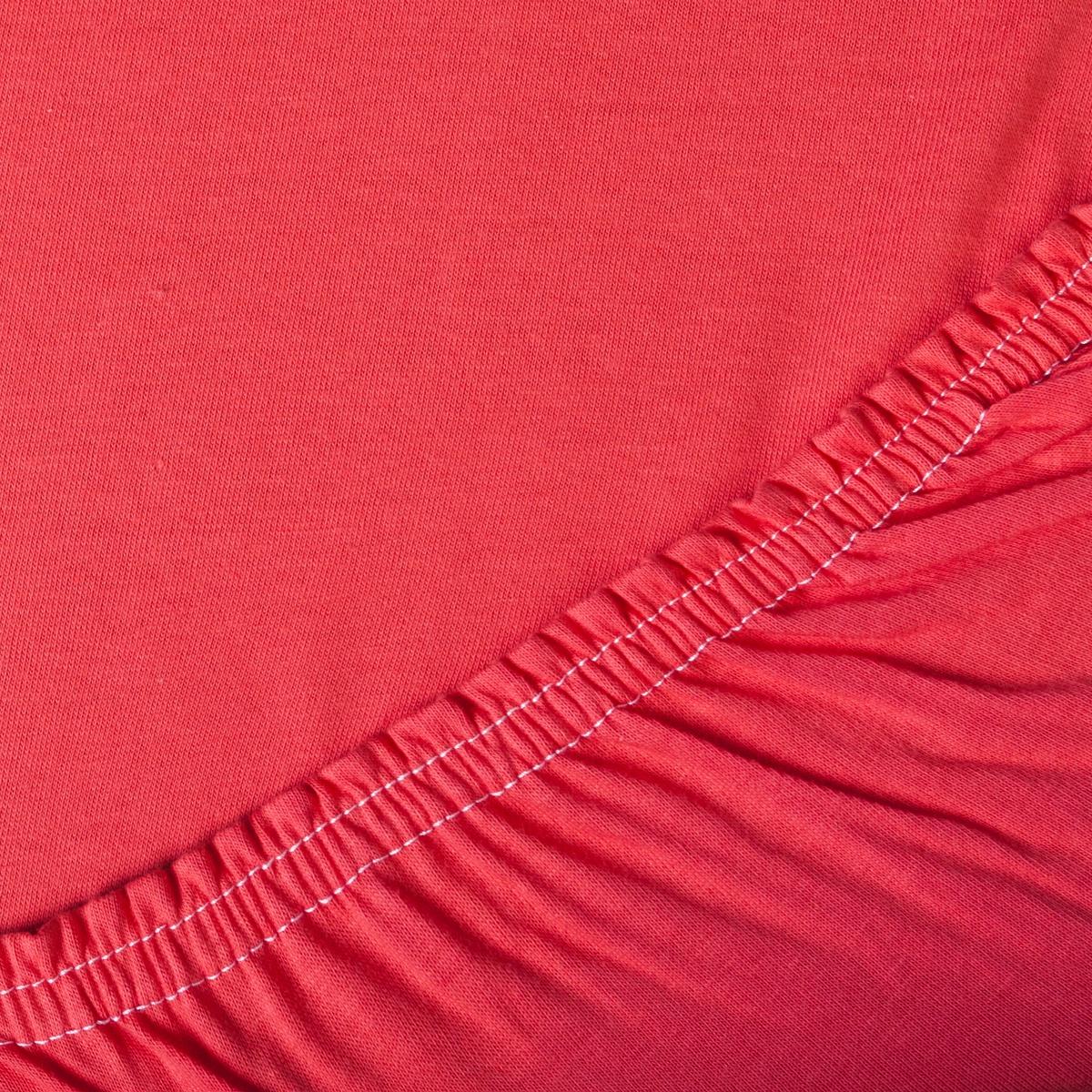 Простыня ТК Традиция Трикотажные простыни, для сна и отдыха, 1441/Коралловый, коралловый