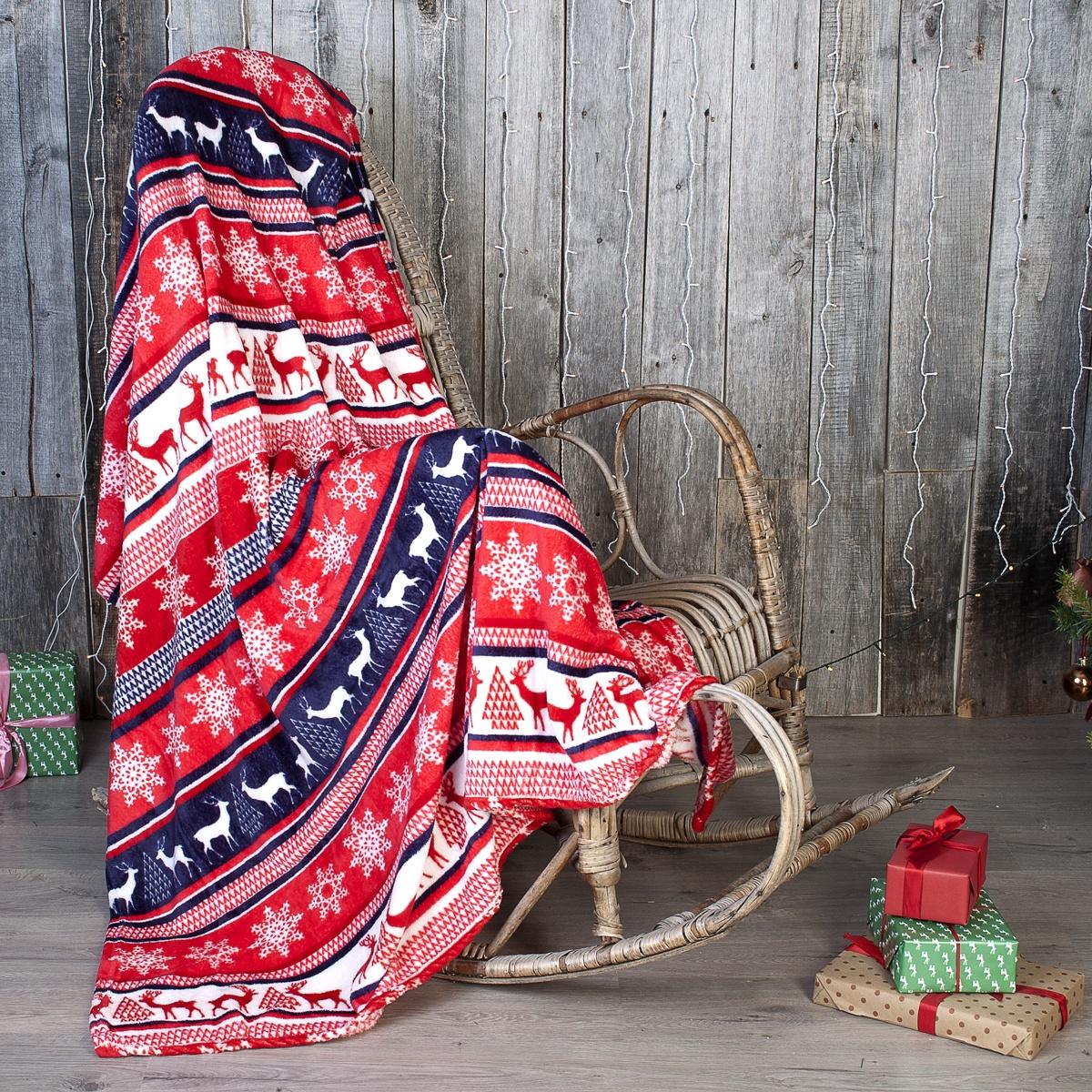 Плед Традиция Амели Lite, 3980, Скандинавия, 180 х 200 см