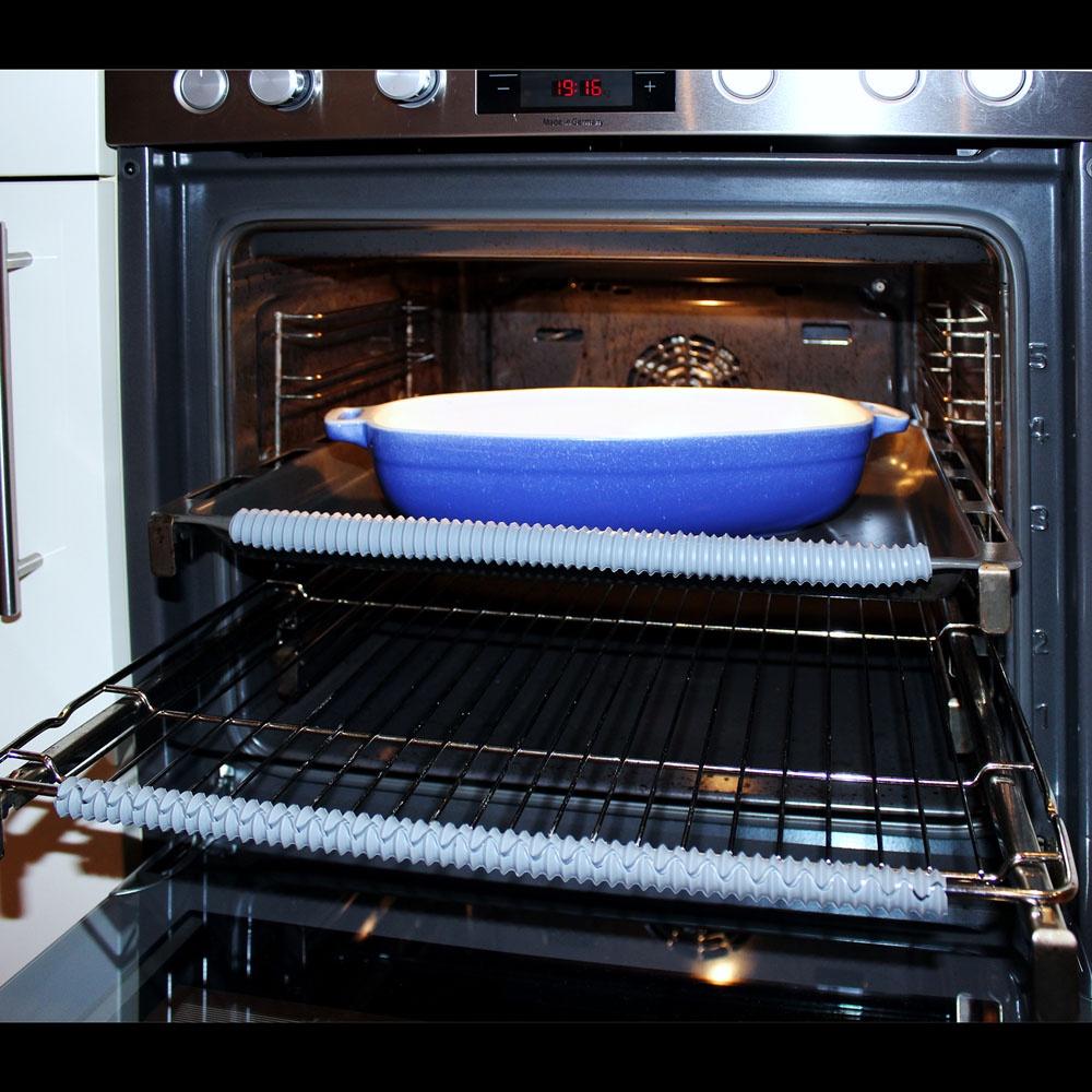 Держатель кухонный ХИТ - декор Силиконовые накладки для духовки, 06274, 06274