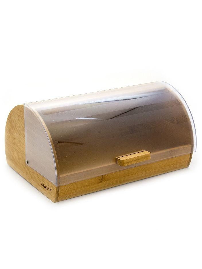Хлебница Катунь, КТ-ХБ-06, бамбук, 300*198*227 мм
