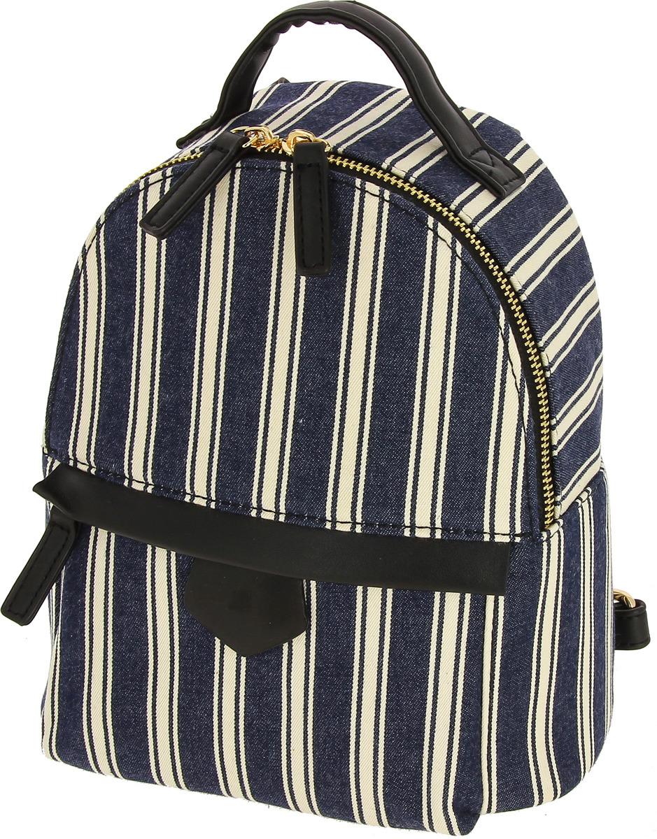 Рюкзак для девочки KENKA, BS_302, синий, белый рюкзак kenka рюкзак