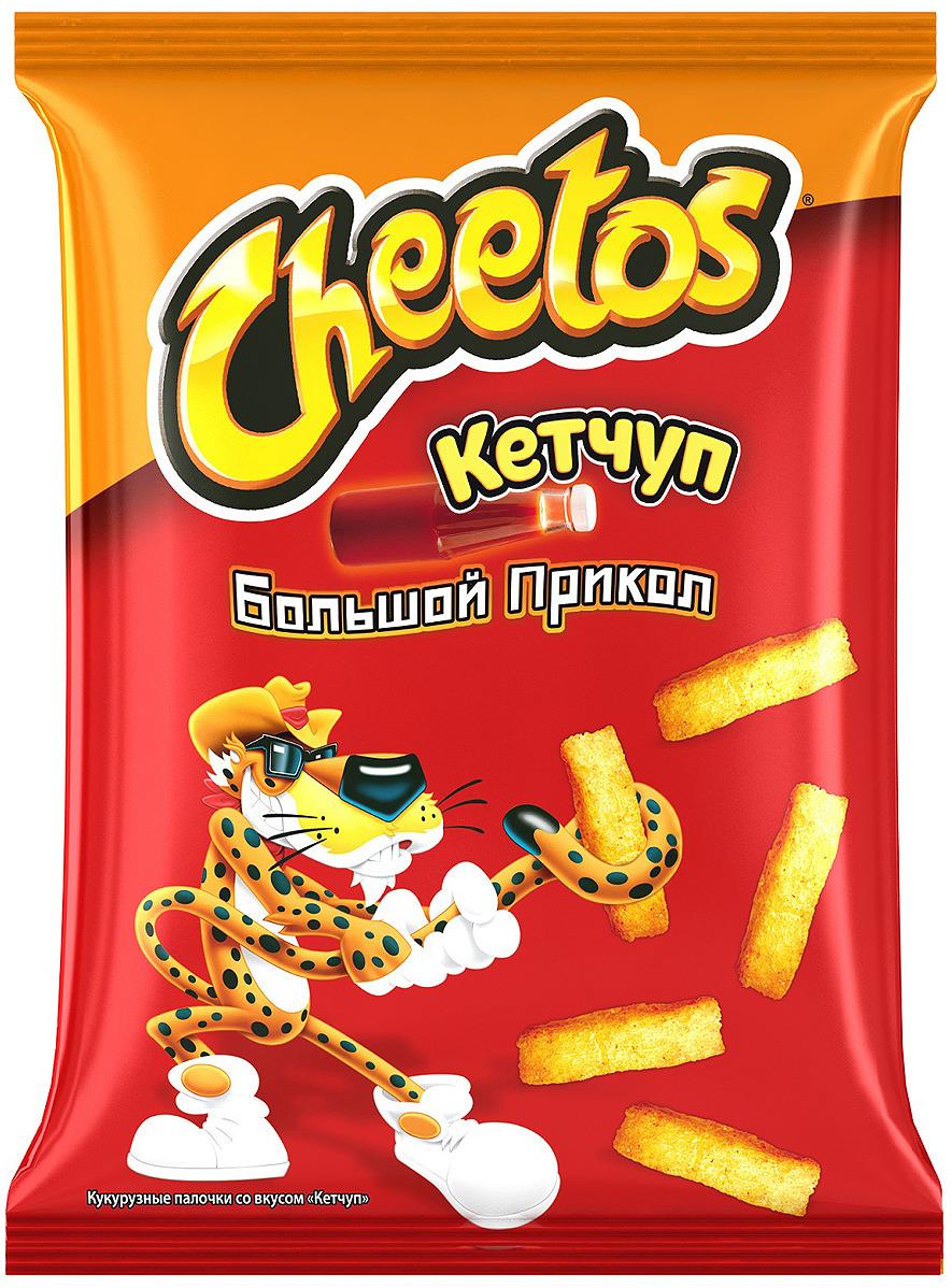 Чипсы Cheetos Кетчуп кукурузные, 85 г цена