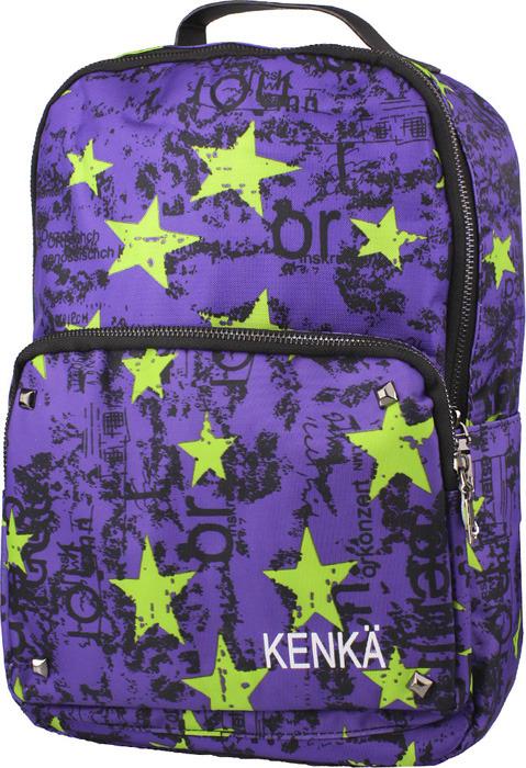 2f0f23ce Стильный детский рюкзак KENKA обязательно приглянется вашему ребенку.  Представленная модель выполнена в привлекающем внимание дизайне с принтом.