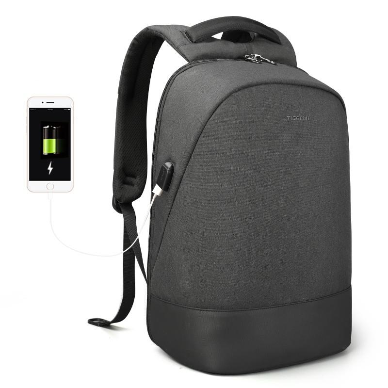 Рюкзак Tigernu T-B3595, 6928112309184, темно-серый 15 6 рюкзак для ноутбука tigernu t b3221 темно серый