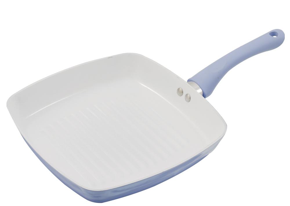 Сковорода-гриль AURORA AU5707, белый