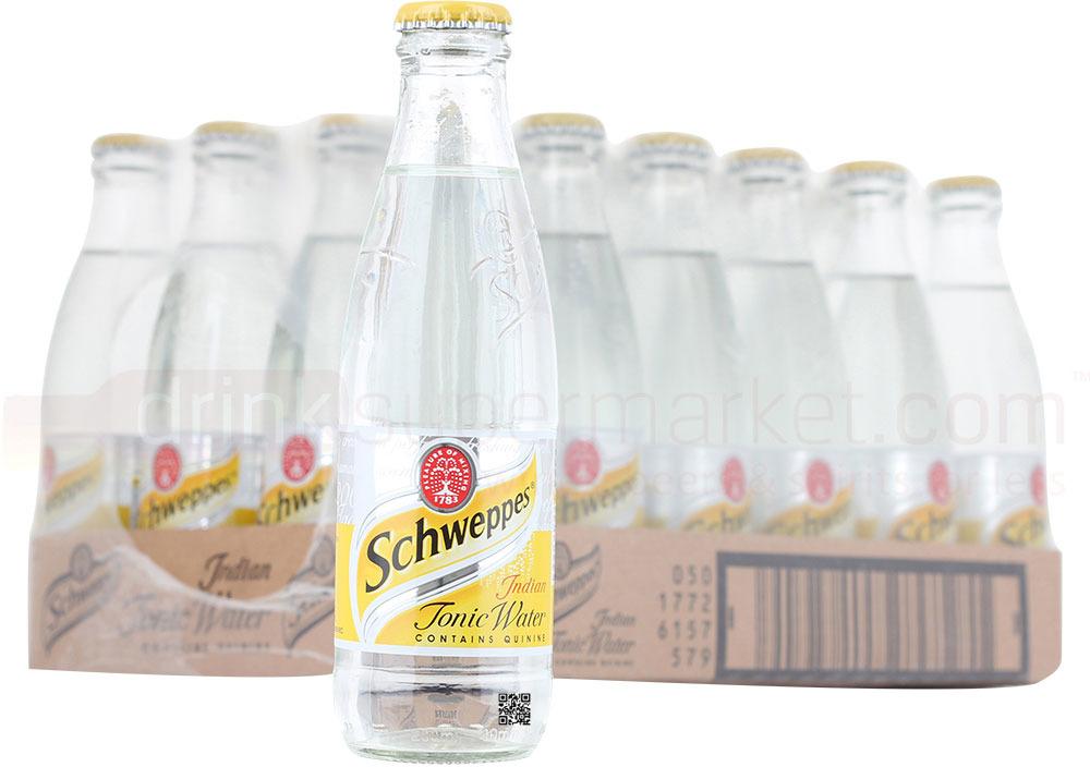 Газированный напиток Schweppes Tonic, 24 шт по 200 мл